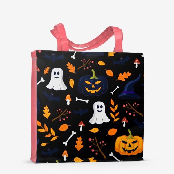 Сумка-шоппер «Паттерн для Хеллоуина»