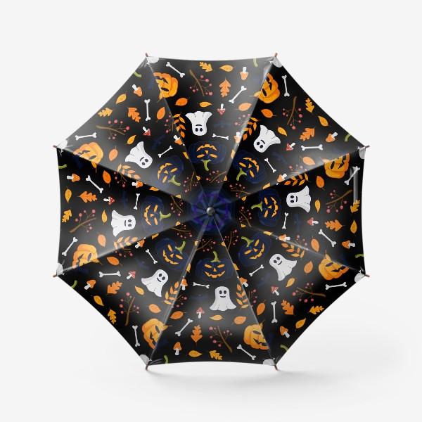 Зонт «Паттерн для Хеллоуина»