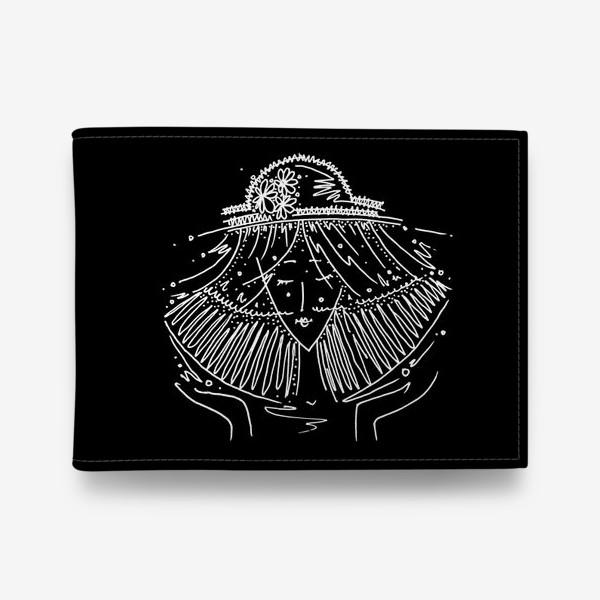 Кошелек «Весы зодиак черный»