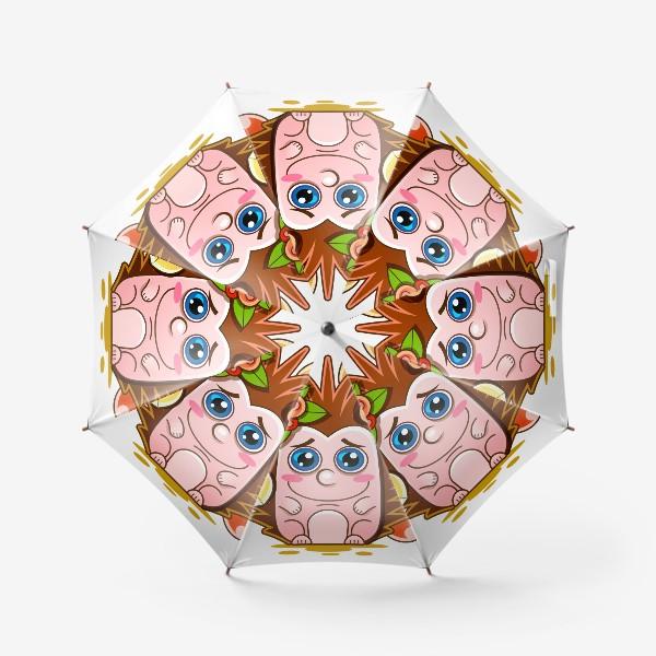 Зонт «Векторная иллюстрация»