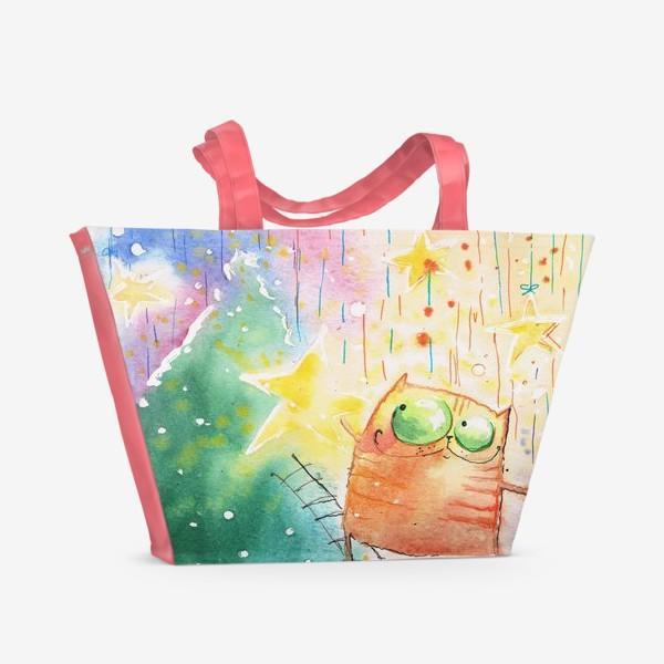 Пляжная сумка «Новый ГОД»