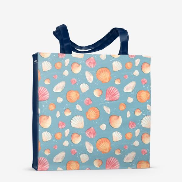 Сумка-шоппер «Нежные морские ракушки»