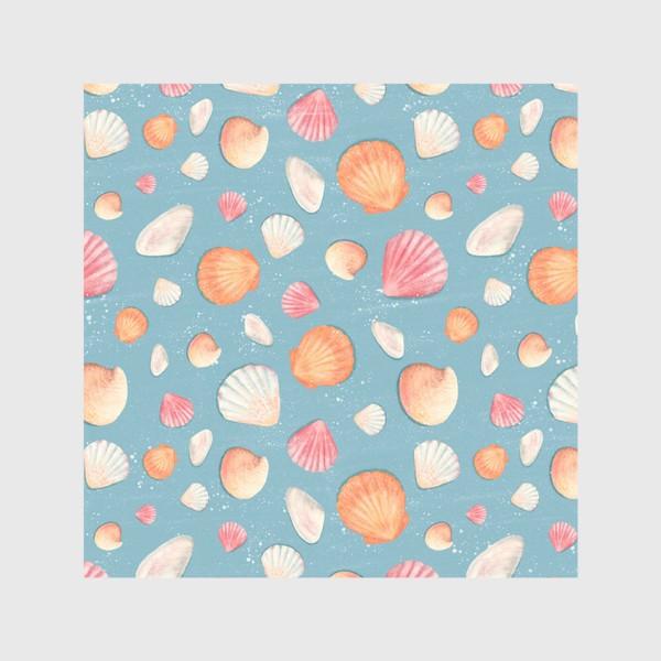 Скатерть «Нежные морские ракушки»