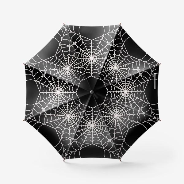 Зонт «Паутина Хэллоуин »