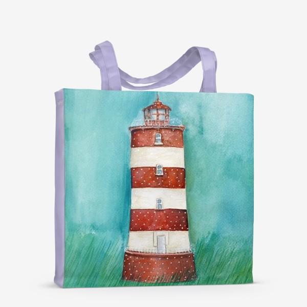 Сумка-шоппер «Spring lighthouse / Весенний маяк»