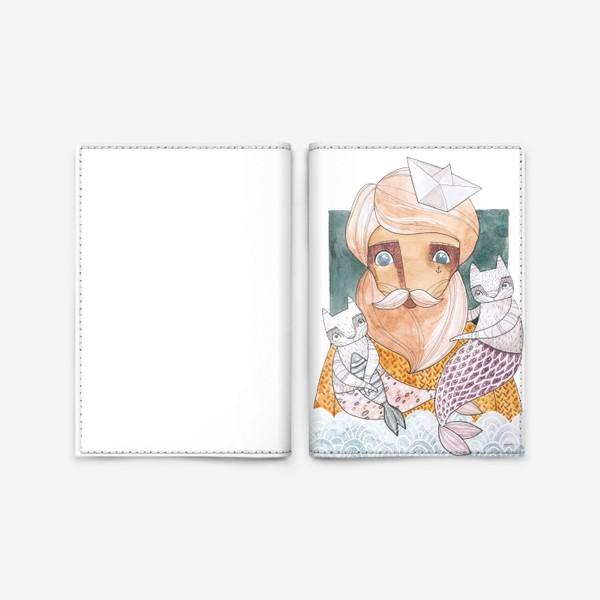 Обложка для паспорта «моряк»