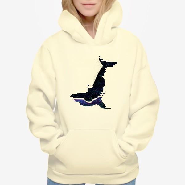 Худи «Космический кит »