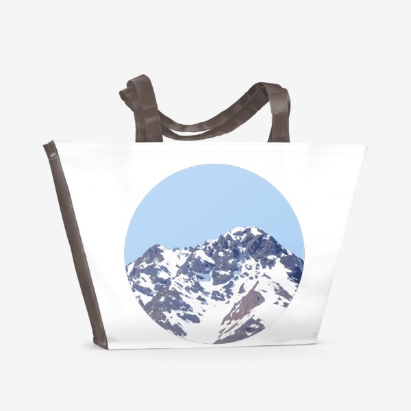 Пляжная сумка «Горы»