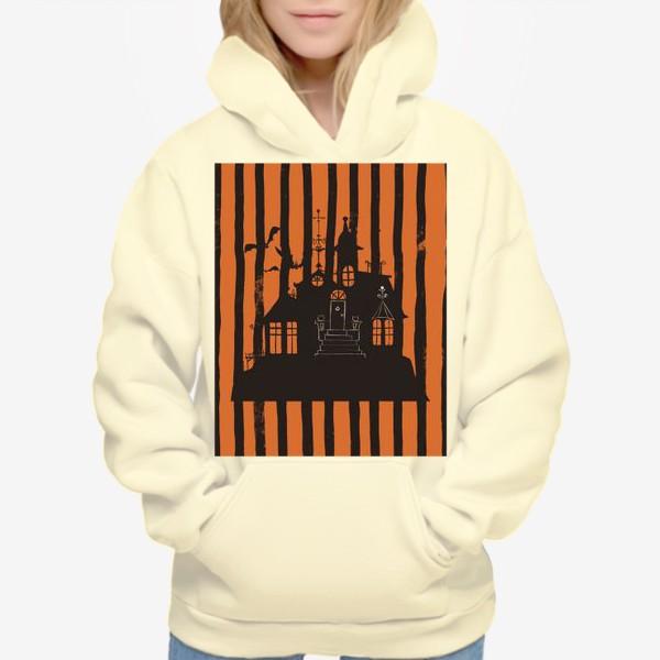 Худи «Хэллоуин, замок»