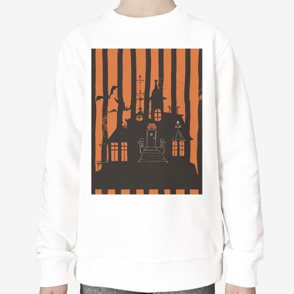 Свитшот «Хэллоуин, замок»