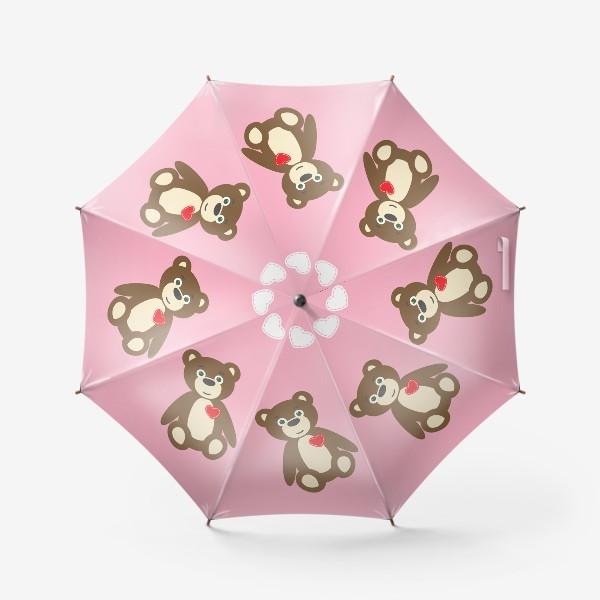 Зонт «Влюбленный медведь»