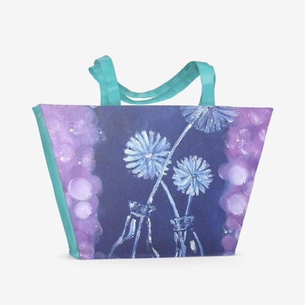 Пляжная сумка «Одуванчики»