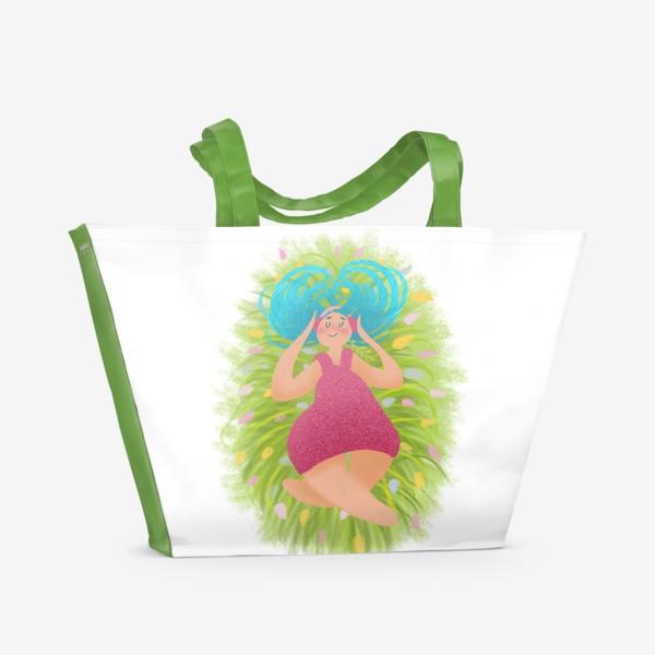 Пляжная сумка «Настроение: меломан.»