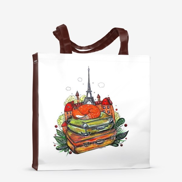 Сумка-шоппер «Лисенок»