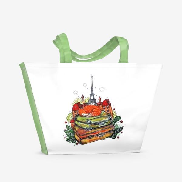 Пляжная сумка «Лисенок»