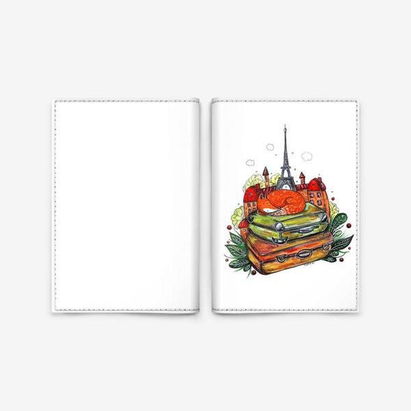 Обложка для паспорта «Лисенок»