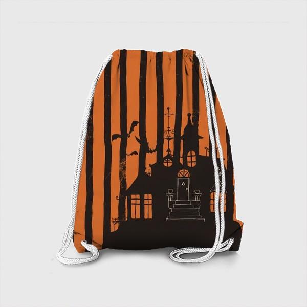 Рюкзак «Хэллоуин, замок»