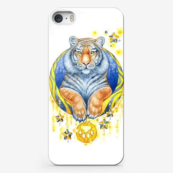 Чехол iPhone «Тигр»