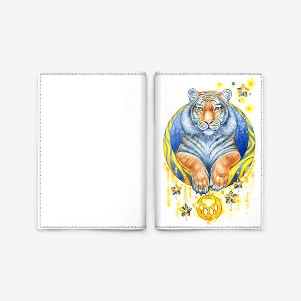 Обложка для паспорта «Тигр»