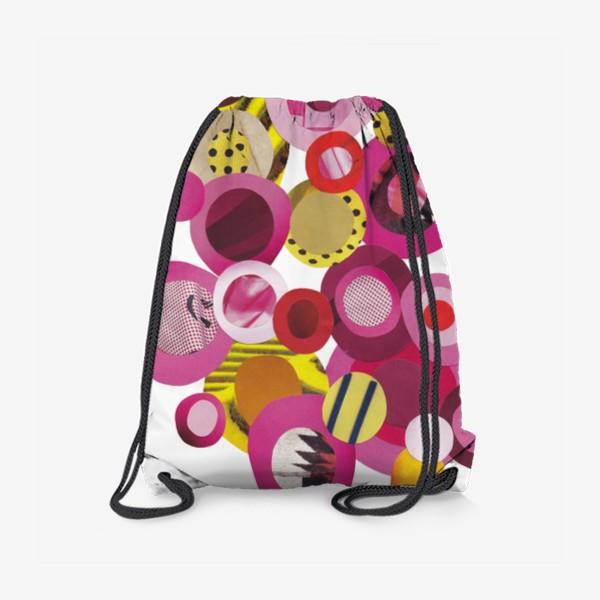 Рюкзак «Розовая абстракция»