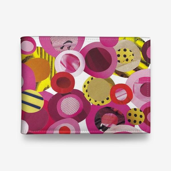 Кошелек «Розовая абстракция»