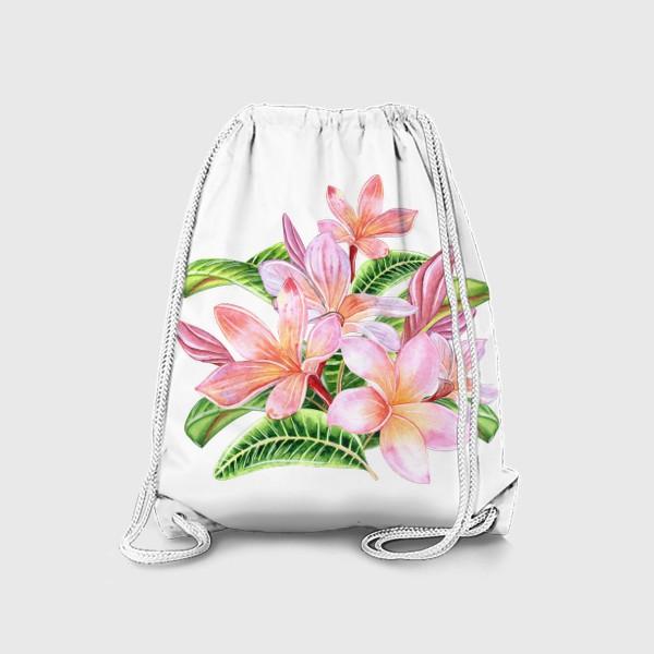 Рюкзак «Плюмерии»