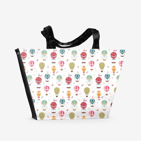 Пляжная сумка «Воздушные шары»