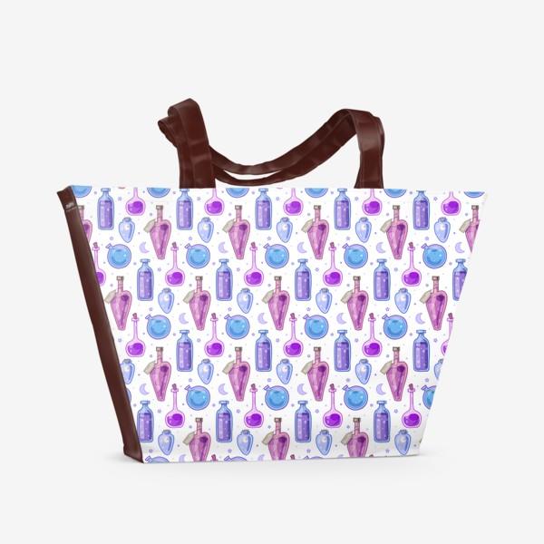 Пляжная сумка «Магические зелья»