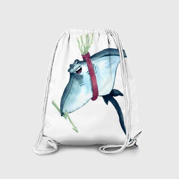 Рюкзак «Скат с молниями - стрелами и колчаном»
