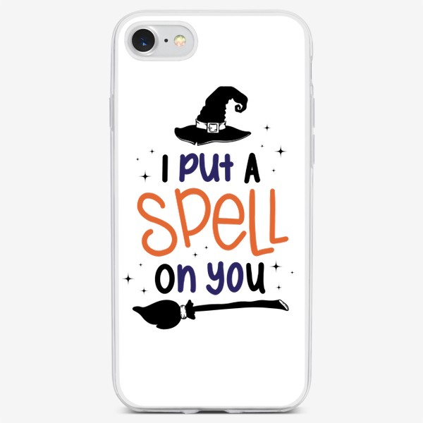 Чехол iPhone «Я околдовала тебя/I put a spall on you»