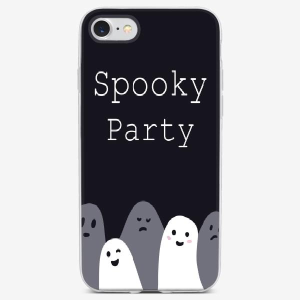 Чехол iPhone «Пугающая вечеринка/spooky party»