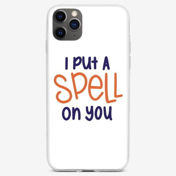 Чехол iPhone «i put a spell on you/я околдовала тебя »