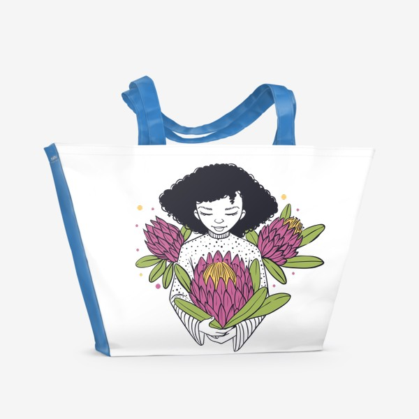 Пляжная сумка «Протея»