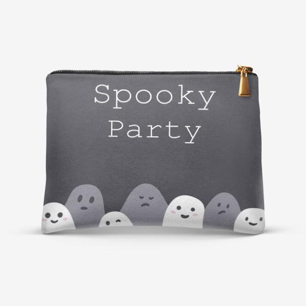 Косметичка «Пугающая вечеринка/spooky party»