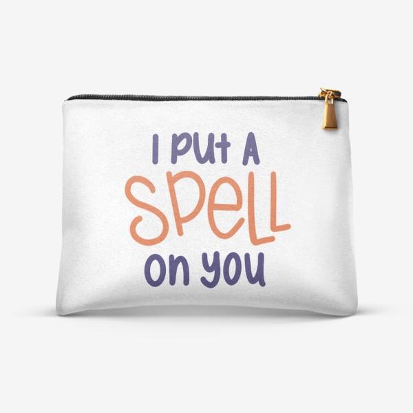 Косметичка «i put a spell on you/я околдовала тебя »