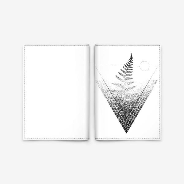 Обложка для паспорта «Fern»