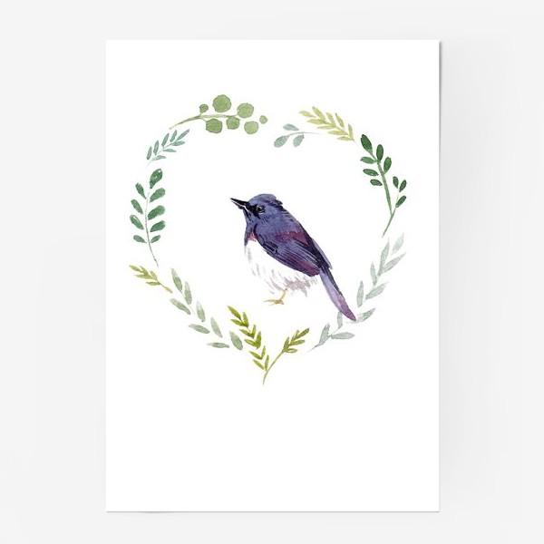 Постер «Птичка в сердце»