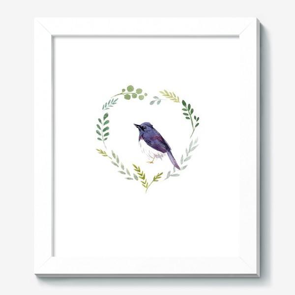 Картина «Птичка в сердце»