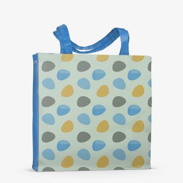 Сумка-шоппер «Бесшовный паттерн с разноцветными пятнами»
