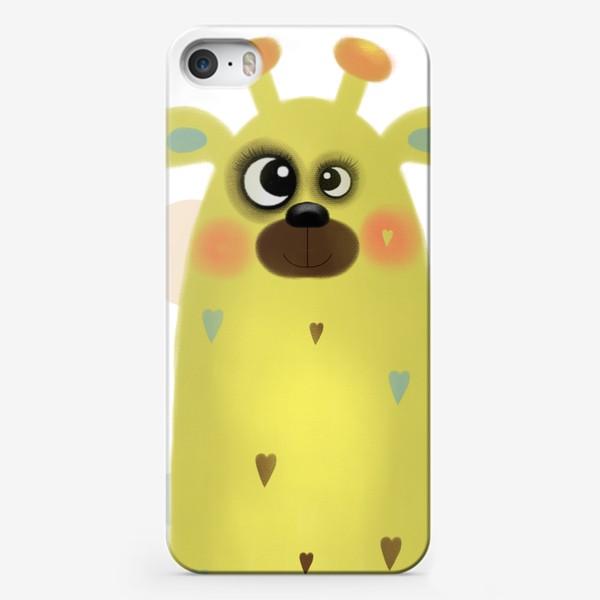Чехол iPhone «Жираф »