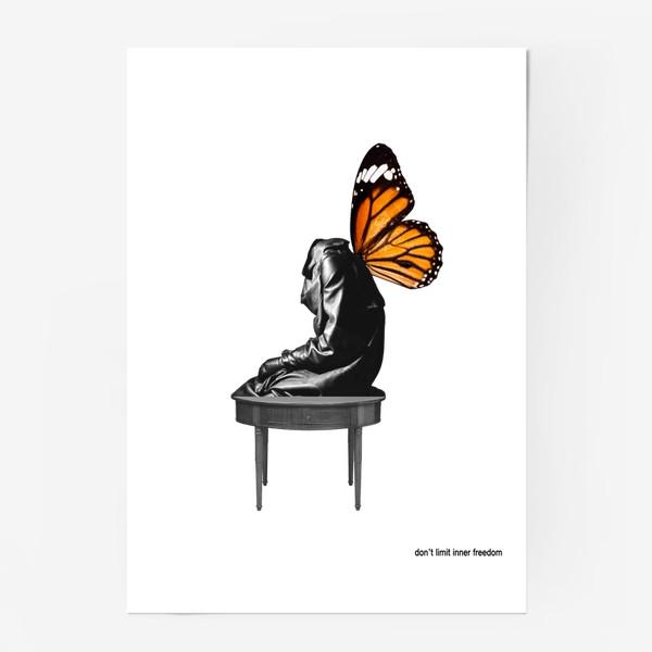 """Постер «Коллаж """"Inner freedom""""»"""