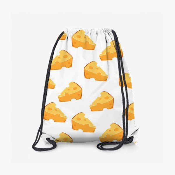 Рюкзак «Сырный паттерн с сыром)»