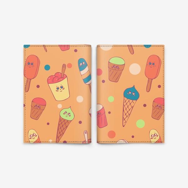 Обложка для паспорта «Мороженки»