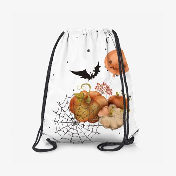 Рюкзак «Хэллоуин, тыква»