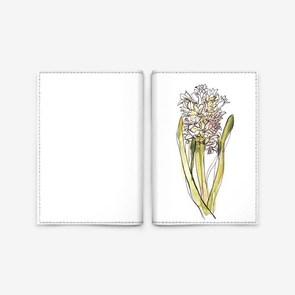 Обложка для паспорта «Гиацинт»