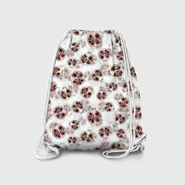Рюкзак «Фрукты гранаты половинки»