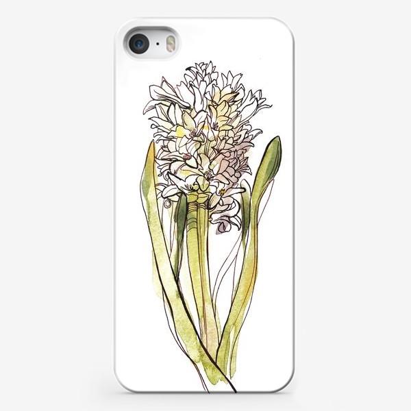 Чехол iPhone «Гиацинт»