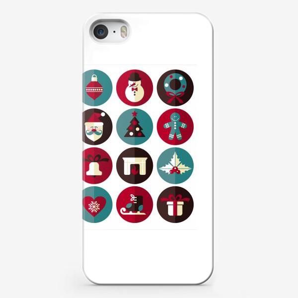 Чехол iPhone «Новогодниe кружки!»
