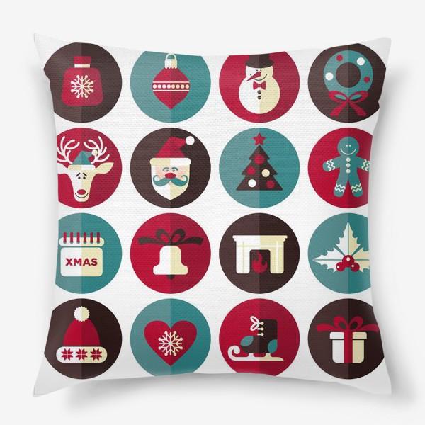 Подушка «Новогодниe кружки!»