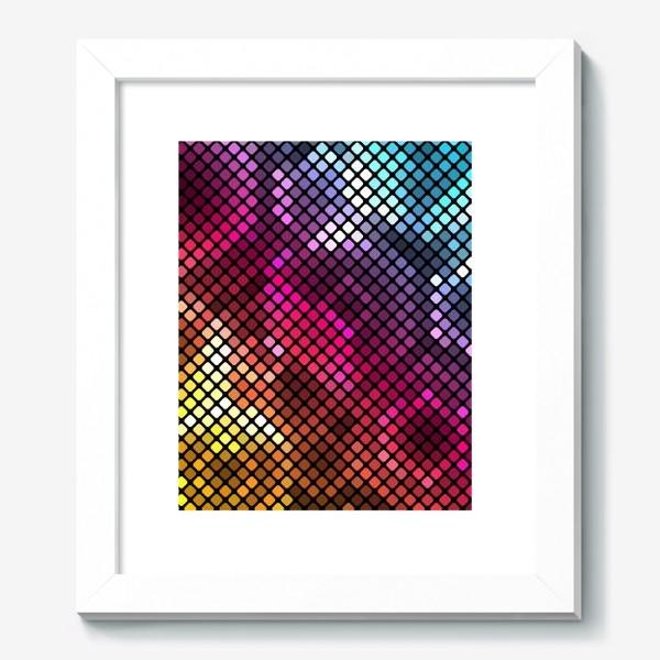 Картина «Радужный металлик»